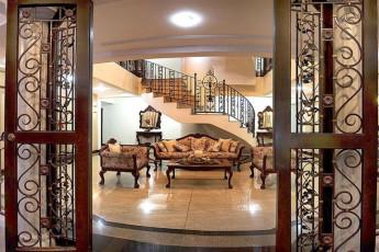 Manila - Casa Nicarosa : Lobby in Manila - Casa Nicarosa Hostel, Philippines