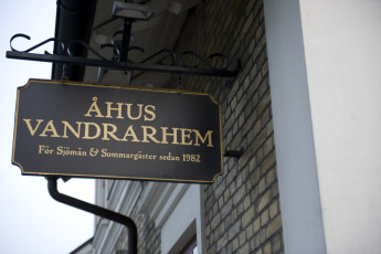 Åhus : Ahus sign