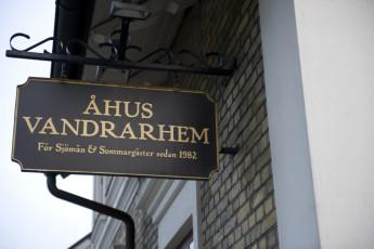 Åhus : Ahus sign