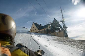 Nuria - Pic de L'Aliga : Nuria Pic de Aliga hostel ski slope