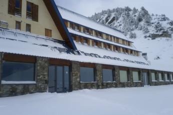 Nuria - Pic de L'Aliga : Nuria Pic of Aliga snow