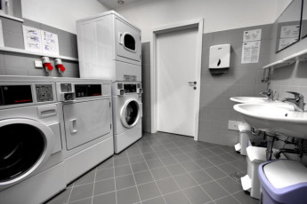 Youth Hostel Brežice : Laundry room in the Brezice - MC Hostel Brezice in Slovenia