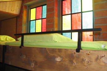 Youth Hostel Paradiso : Dorm room in the Tolmin - Youth Hostel Paradiso in Slovenia