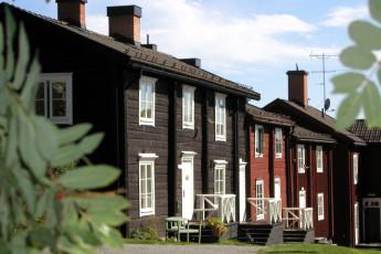 Vilhelmina/Kyrkstaden : Exterior View of Vilhelmina/Kyrkstaden Hostel, Sweden