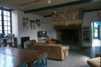 Auberge de jeunesse Hi Saint Brieuc : Lounge in the Saint Brieuc hostel in France