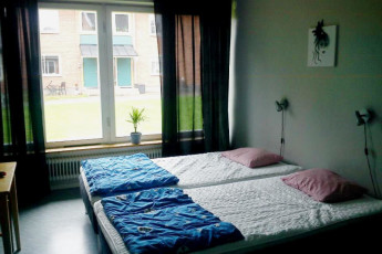 Falun : Twin Room in Falun Hostel, Sweden