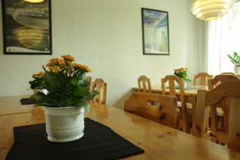 Falun : Dining Area in Falun Hostel, Sweden