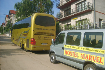 Niš - Hostel Marvel : Transport for the Nis - Hostel Marvel in Serbia