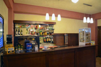 Altomonte - Soleluna Youth Hostel : Bar in the Altomonte - Soleluna Youth Hostel in Italy