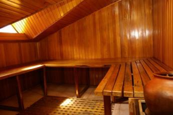 Bogota - Hostel Fatima : Sauna in Bogota - Hostel Fatima, Colombia