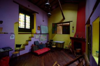 Bogota - Hostel Fatima : Lobby in Bogota - Hostel Fatima, Colombia