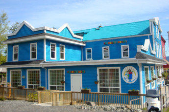 HI - Prince Rupert : Exterior of the HI - Prince Rupert Hostel in Canada