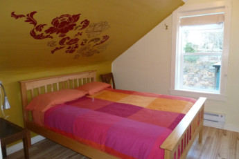 HI - Prince Rupert : Private double room in the HI - Prince Rupert Hostel in Canada