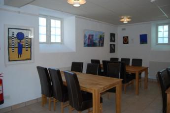 Halmstad/Kaptenshamn : Dining Area in Halmstad / Kaptenshamn Hostel, Sweden