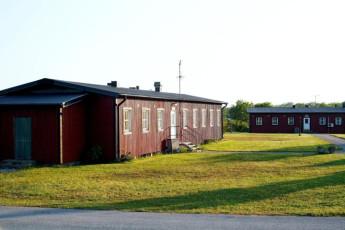 Bunge/Fårösund : Exterior View of Bunge/Farosund Hostel, Sweden