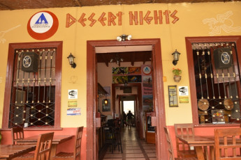 Ica - Desert Nights : Front Exterior View of Entrance to Ica - Desert Nights Hostel, Peru