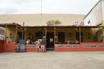 Ica - Desert Nights : Patio Area in Ica - Desert Nights Hostel, Peru