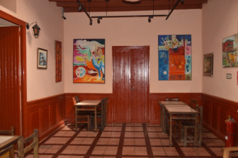 Ica - Desert Nights : Bar Area in Ica - Desert Nights Hostel, Peru