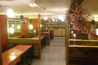 Le Mont-Dore : Restaurant at the Mont Dore hostel in France