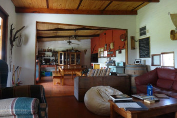 Colonia - Horse Farm El Galope : Kitchen, Dining and Lounge Area in Colonia - Horse Farm El Galope, UIruguay