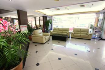 Melaka - Hallmark Hotel Leisure : Lobby in Melaka - Hallmark Hotel Leisure Hostel, Malaysia