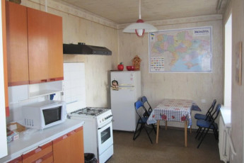 Kiev - Eurohostel : Kitchen and Dining Area in Kiev - Eurohostel, Ukraine