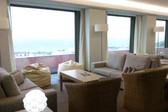Azores - S.Jorge Island - Calheta : Lounge and Reception Area in Azores - S.Jorge Island - Calheta Hostel, Portugal
