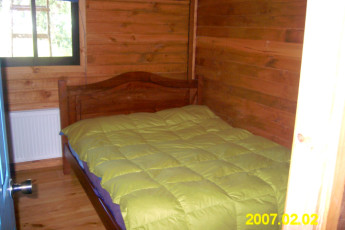 Chillán - Chil In : Double Bedroom in Chillan - Chil In Hostel, Chile