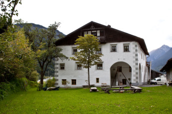 Imst/Tyrol - Romedihof Backpacker Hostel : Exterior View of Imst/Tyrol - Romedihof Backpacker Hostel, Austria