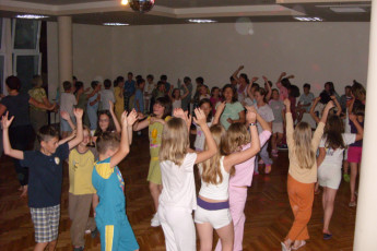 Zadar : Zadar hostel in Croatia childrens disco activity