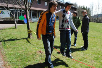 Titisee-Neustadt - Rudenberg : Titisee Neustadt Rudenberg hostel in Germany boys activity