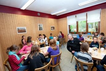 Bad Fallingbostel : Bad Fallingbostel hostal en Alemania comedor