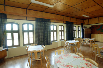 Dahmen : Dahmen hostel in Germany dining