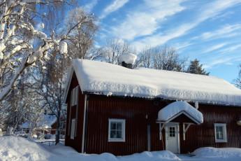 Jokkmokk/Åsgård : Jokkmokk Asgard hostel in Sweden exterior