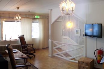 Jokkmokk/Åsgård : Jokkmokk Asgard hostel in Sweden lounge