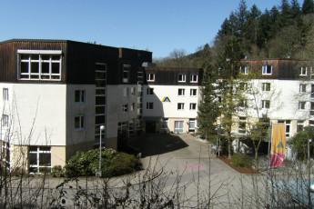 Freiburg : Freiburg hostel in Germany exterior