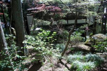 Takayama - Hida-Takayama-Tensho YH : Hida-Takayama-Tensho Youth Hostel Garden
