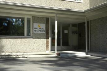Savonlinna - Kesähotelli Malakias : savonlinna Kesahotelli Malakias entrance