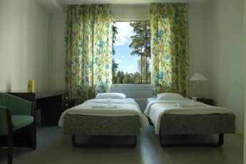 Savonlinna - Kesähotelli Malakias : savonlinna Kesahotelli Malakias twin room