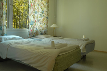 Savonlinna - Kesähotelli Malakias : savonlinna Kesahotelli Malakias twin room view