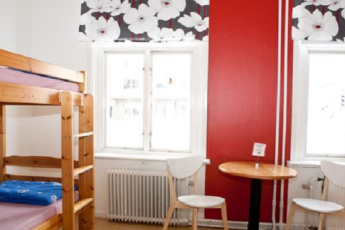 Umeå : Umea Hostel Bedroom