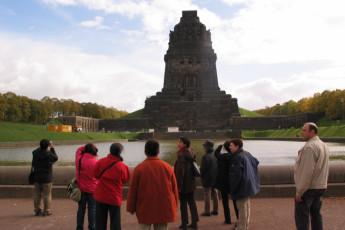 Leipzig : Leipzig hostal monumento Monumento
