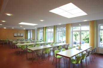 Jever : hostel dining area Jever