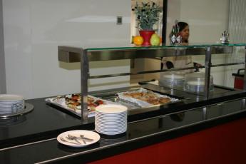 Mannheim : hostal buffet Mannheim