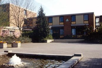 Weinheim (Bergstrasse) : Bergstrasse hostal edificio Weinheim