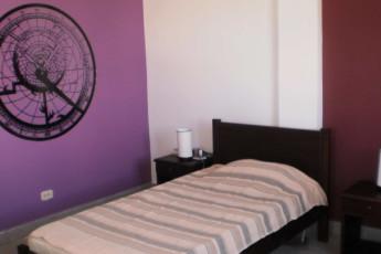 El Viajero Hostels San Andres : Private Zweibettzimmer im El Viajero Hostels San Andres in Columbia