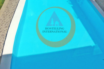 Lima - Hostelling International Lima : Swimming pool at the Lima - Hostelling International Lima Hostel in Peru