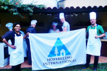 Lima - Hostelling International Lima : Guests in the Lima - Hostelling International hostel in Lima Peru