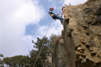 Ramlieh Youth Hostel : Local Rock Climbing at Ramlieh Youth Hostel, Lebanon