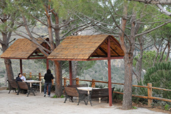 Ramlieh Youth Hostel : Terrace at Ramlieh Youth Hostel, Lebanon